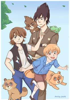 The Tanuki Family