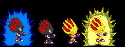 Shadiric sprites by MysteryTheHedgehog2