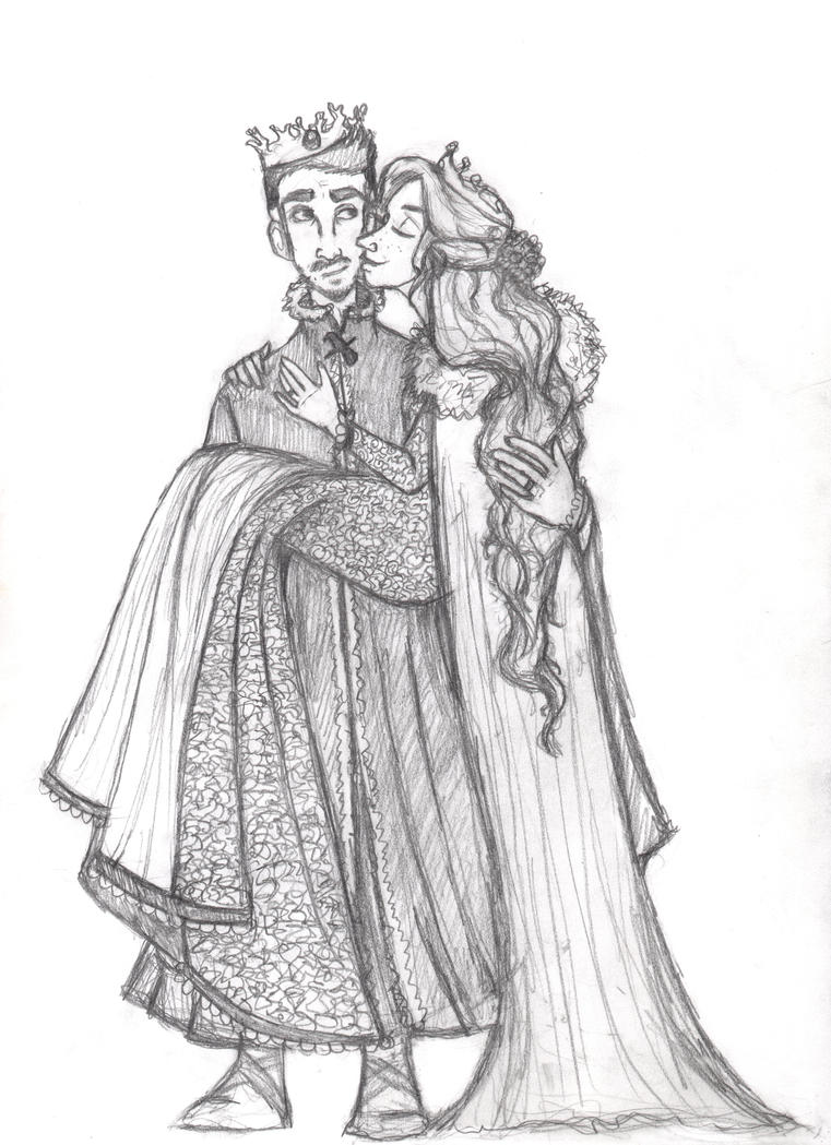 uncolored Petyr x sansa by flybynite19