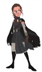 Darkside Rey by flybynite19