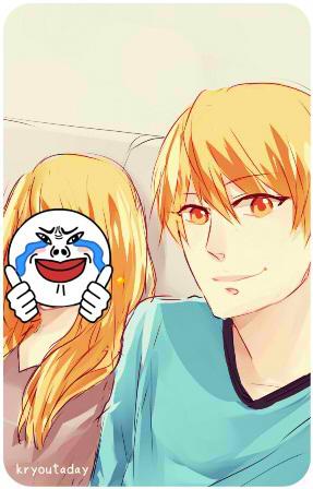 Kuroko no Basuke - Selfie with big sist! by jonquillacantuae