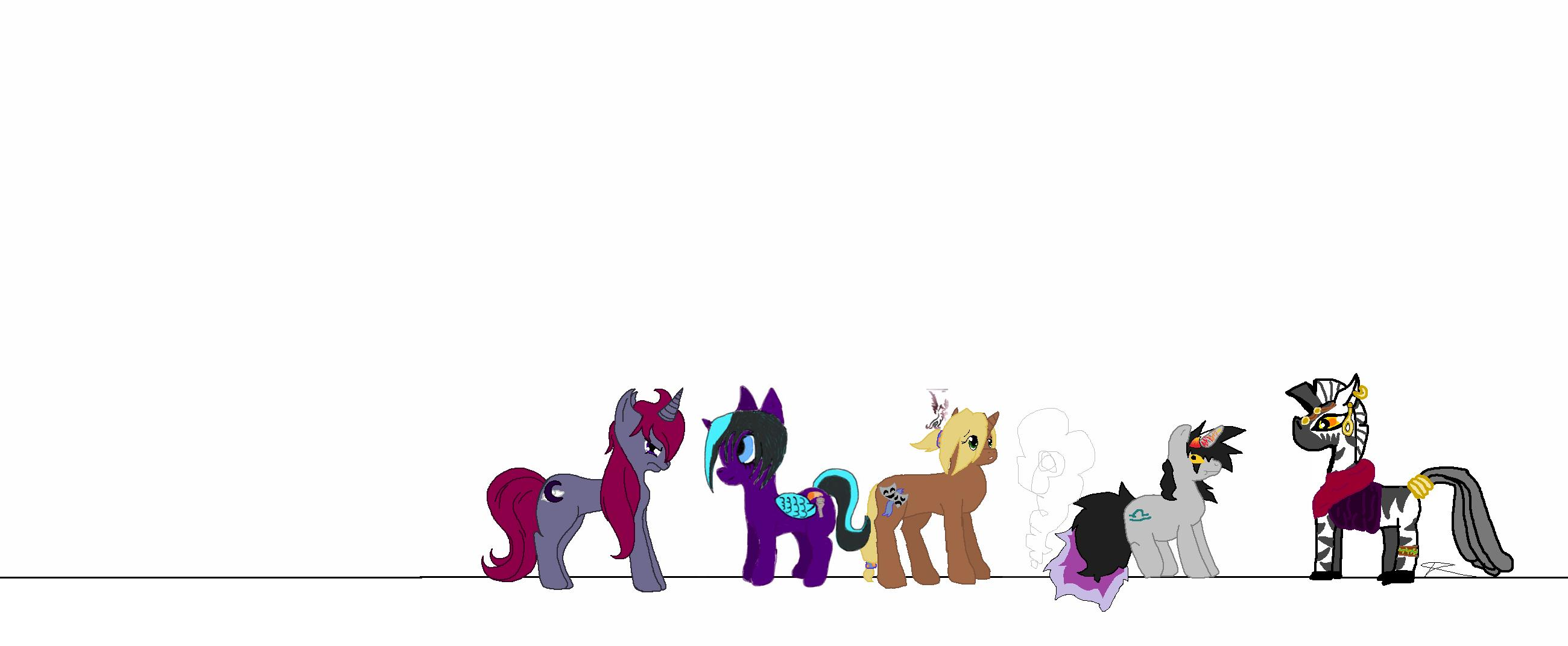 My Big Fat MLP Collab by MicroGalaxies