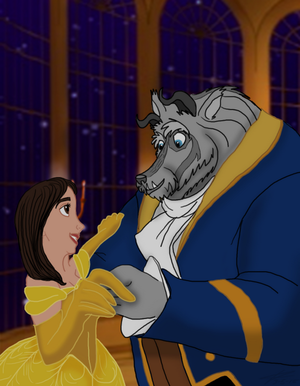 Beauty and the beast belle disney porn