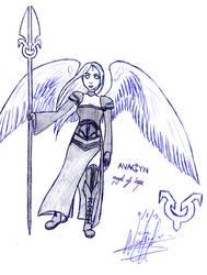 Avacyn, Angel of Hope by Antartis