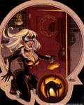 Black Cat Halloween
