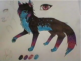 Wolf OC by Stry3mo