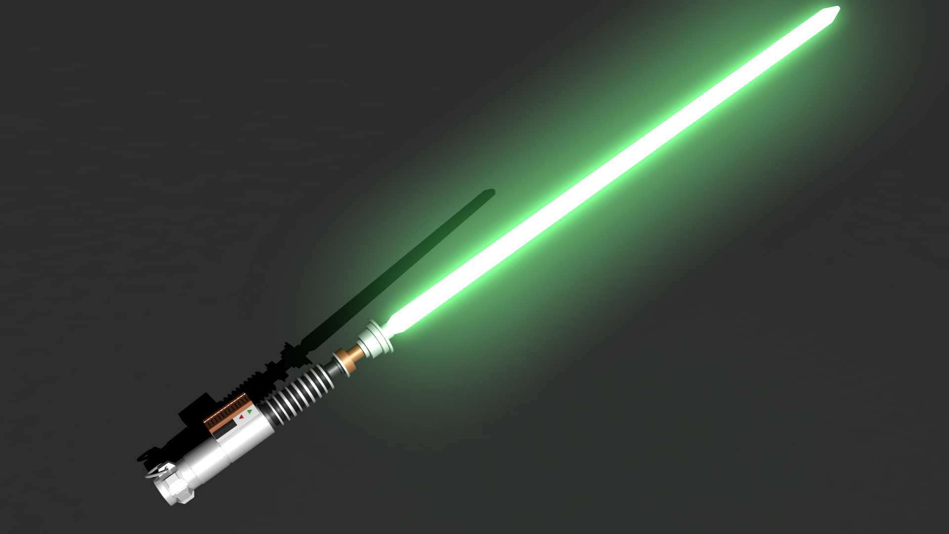 Luke Skywalker Lightsaber Ignited By Adrian1997 On Deviantart