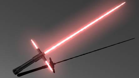 Kylo Ren Lightsaber Ignited