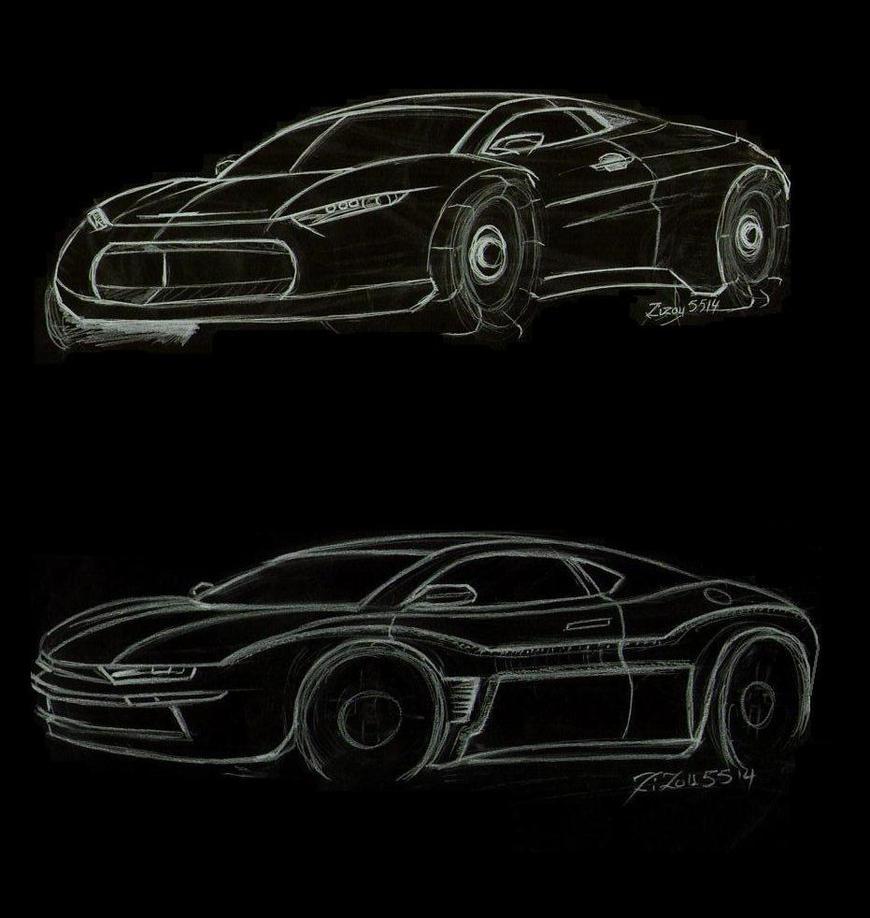 2 fast sketch car by zizou5514