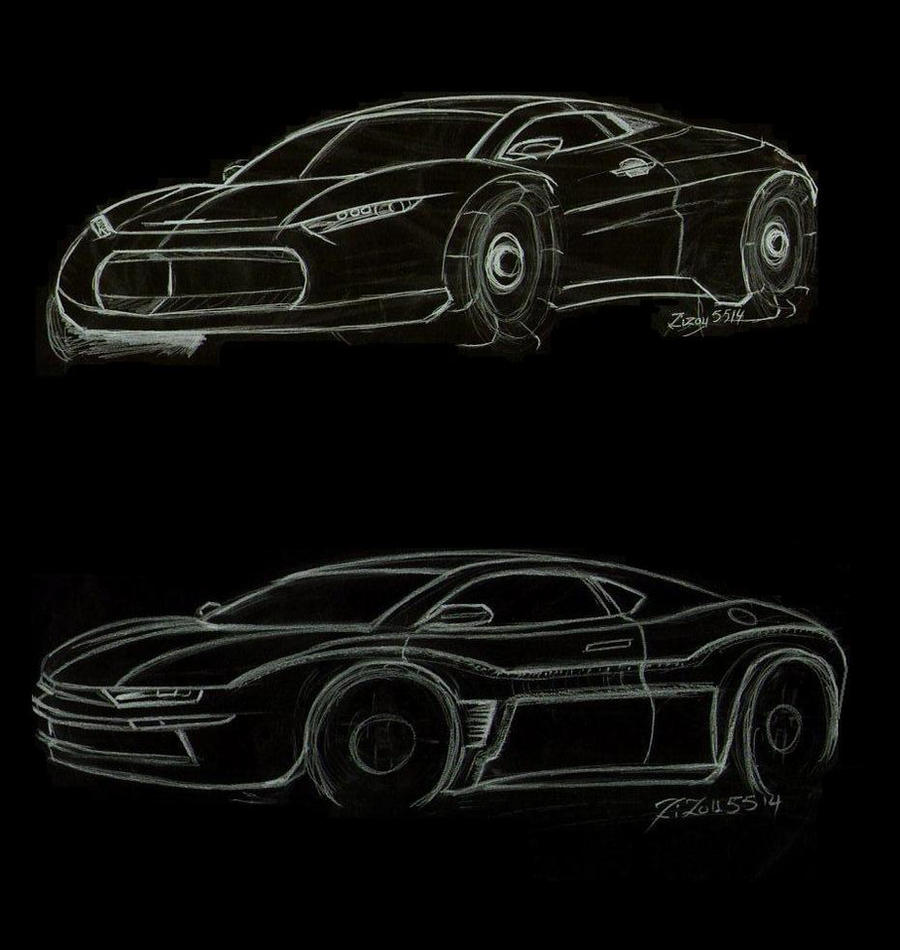 2 fast sketch car by zizou5514