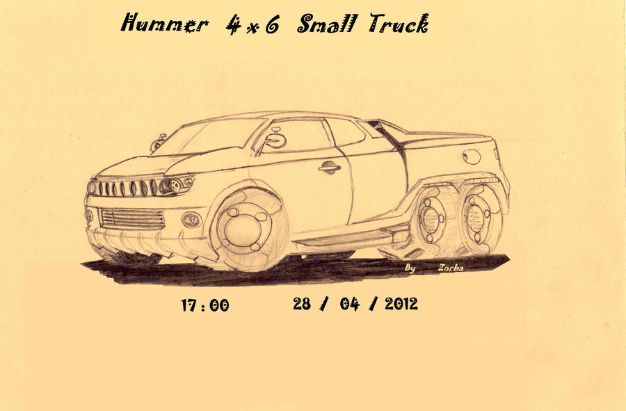 hummer 4x6 by zizou5514
