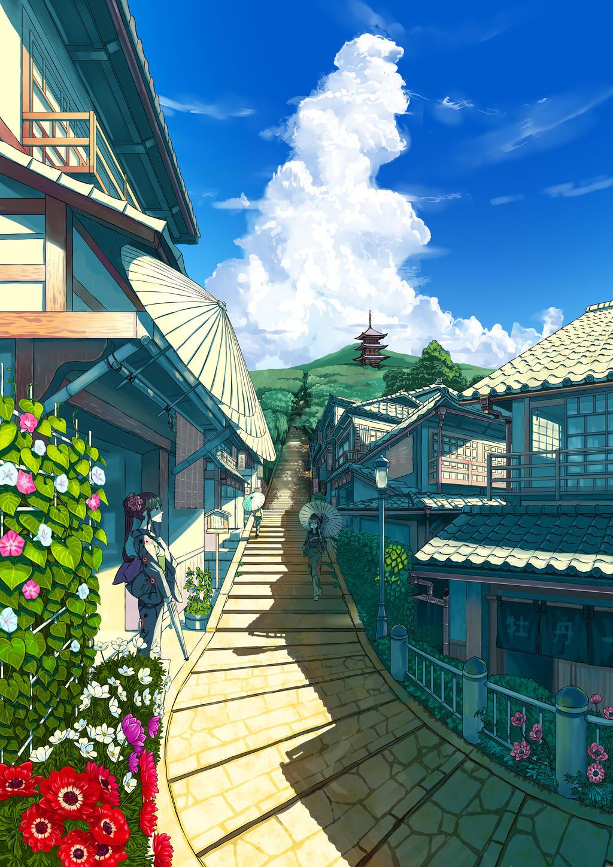 Japanese summer by kanipanda