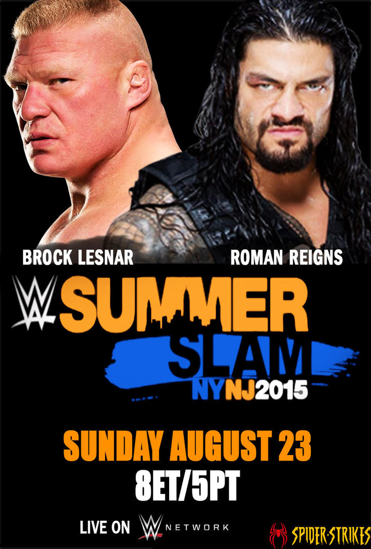 WWE Summerslam 2015 Free Download