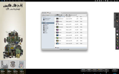 OS X Desktop - G-G-G-Gorillaz