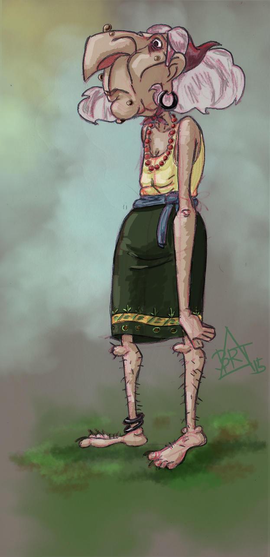 Sad Witch. BRT by bartizma