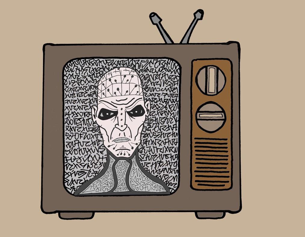 Halloween Horror TV Hellraiser  by gnarkiel