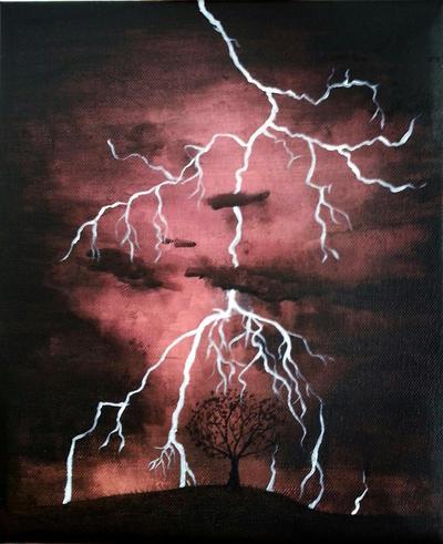 Storm by cold-autumn-rain