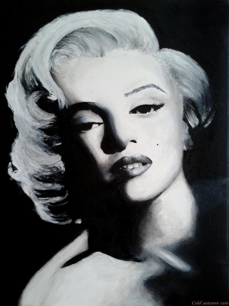 Marilyn Monroe by cold-autumn-rain