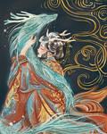 mermaid- dragon