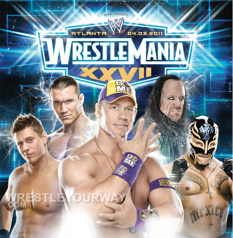 wwe wrestlemania 27 poster by windows8osx d38nab0 Edge (World champion), John Cena, John Morrison, R Truth, Randy Orton, ...