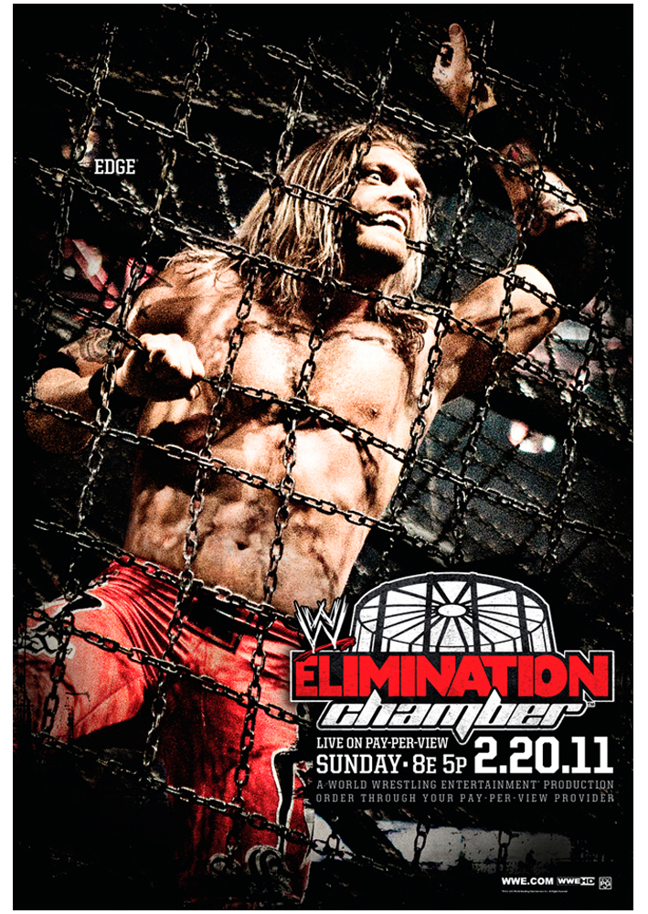 WWE Elimination Chamber 2011 by windows8osx