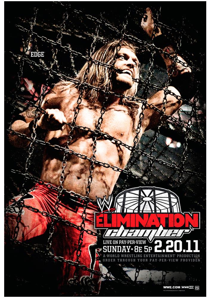 WWE Elimination Chamber 2011 by windows8osx