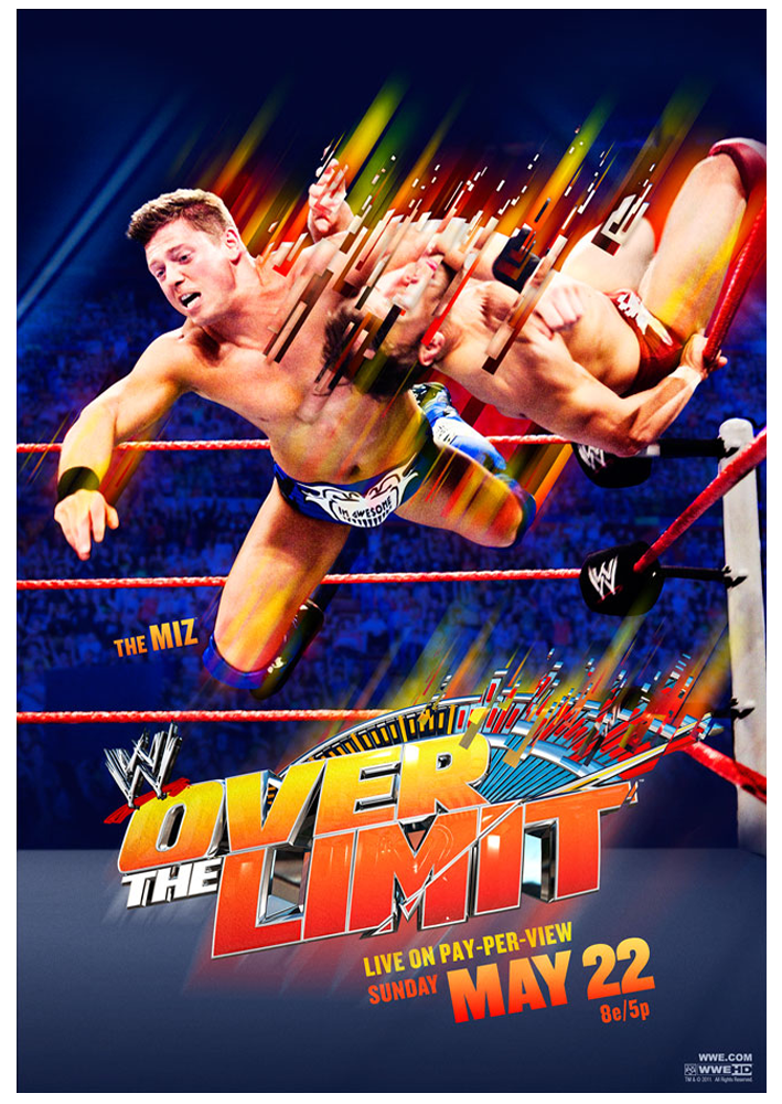 WWE Over The Limit Poster HD by windows8osx