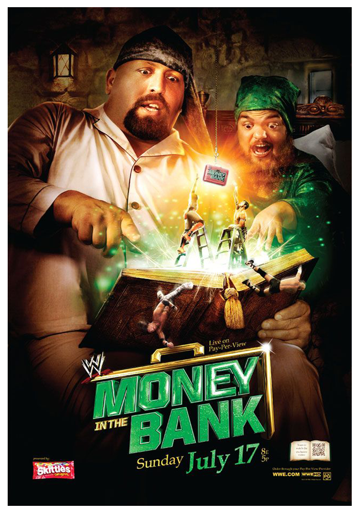 WWE Money in the Bank Poster by windows8osx