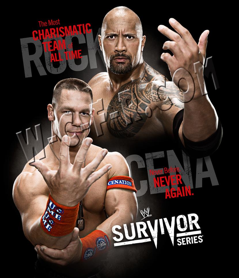 WWE Survivor Series 11 Poster by windows8osx