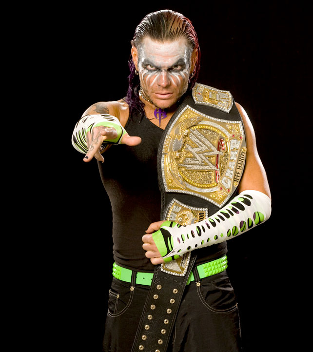 Jeff Hardy Photostudio By Wwe World Heavyweight Champion