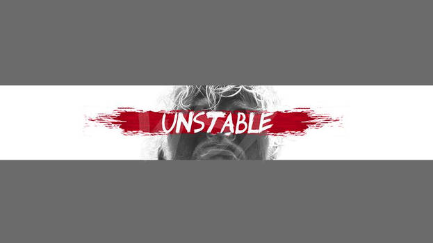 Dean Ambrose Unstable Youtube Banner