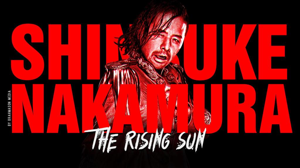 Shinsuke Nakamura Graphic by windows8osx