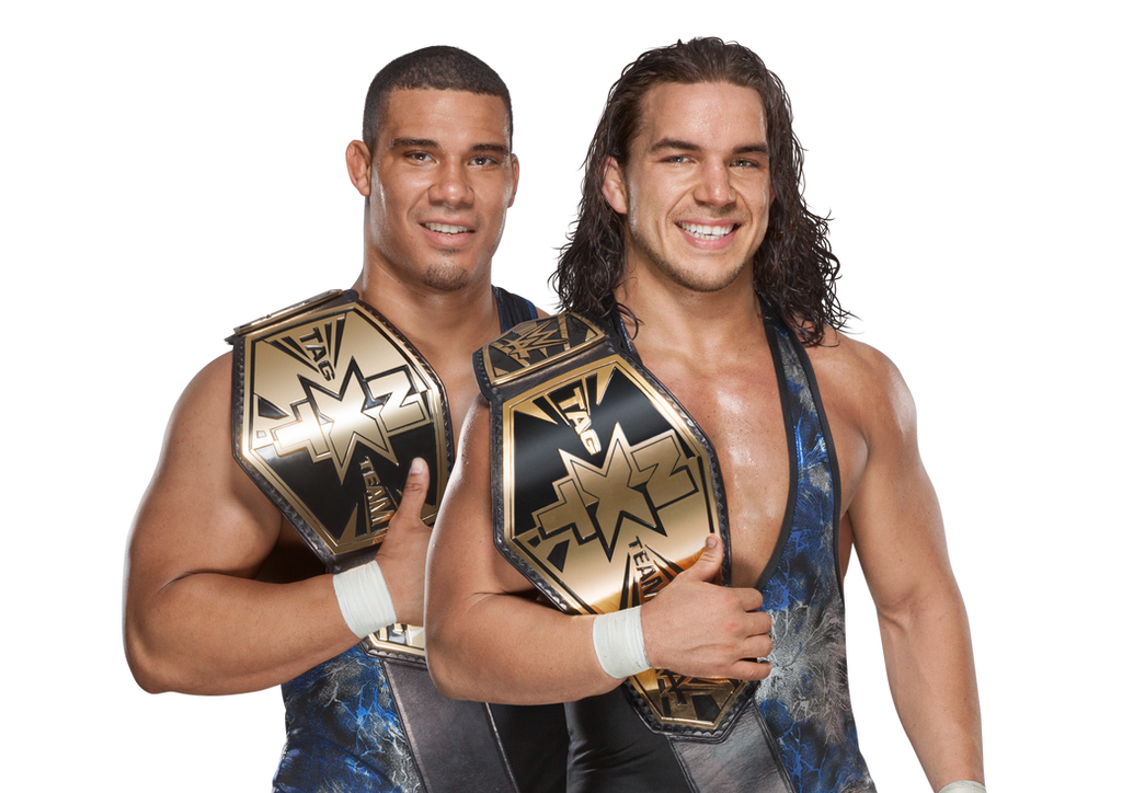 American Alpha Jason Jordan and Chad Gable Render by windows8osx