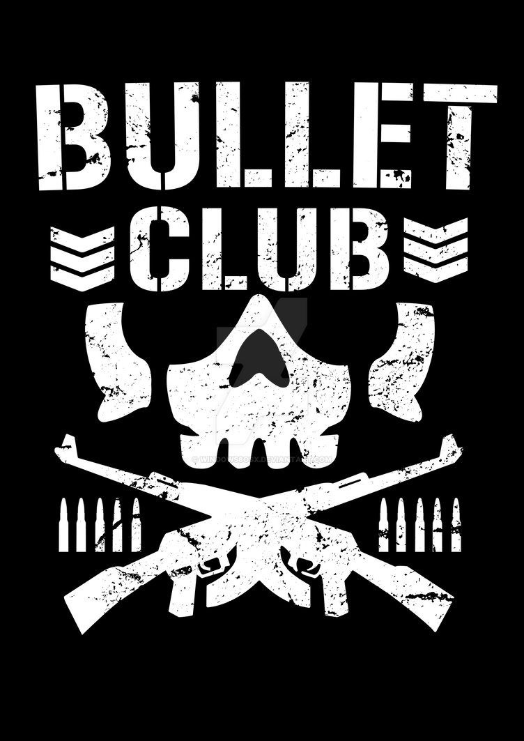 njpw bullet club logo re created by windows8osx on deviantart