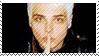 Gerard Way Stamp by sweetangel4eva11