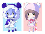 OPEN chibi adopts (2/2) Set price by izasan
