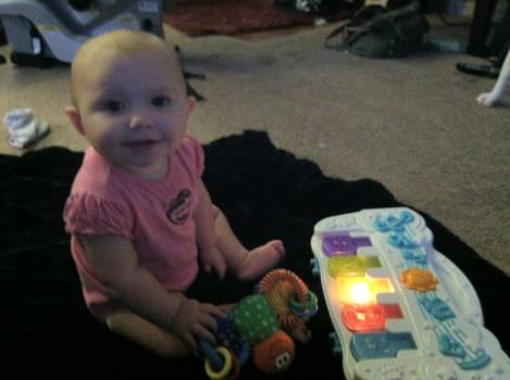 My daughter Ashlyn.
