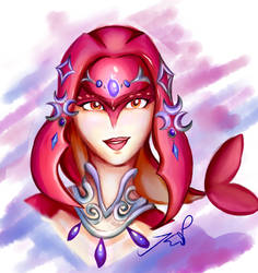 Mipha by ShockWave64
