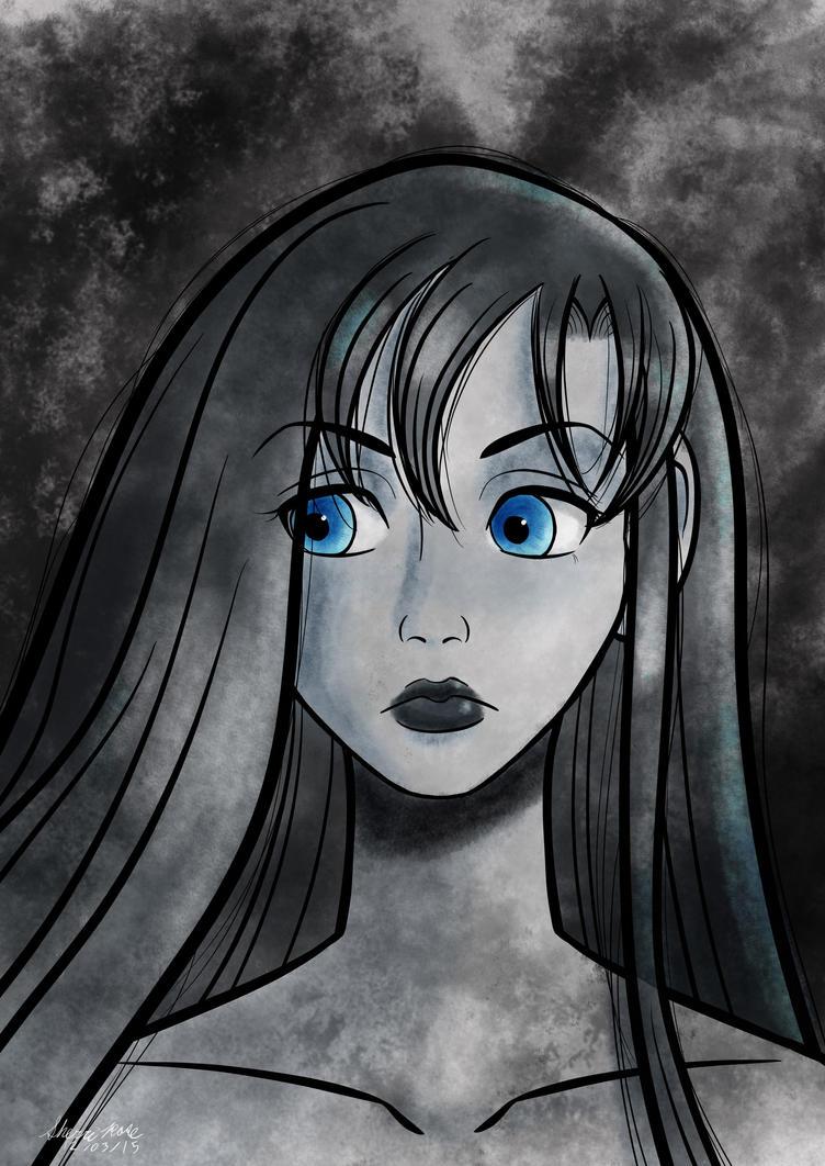 Monochrome Portrait by SherriRose