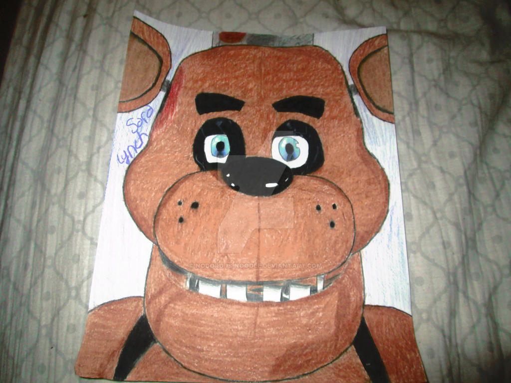 how to draw fnaf faces