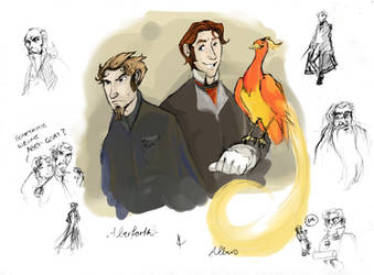 HP- Brothers Dumbledore by Voldy-pet