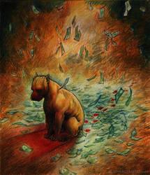 Blood Money by grungepuppy