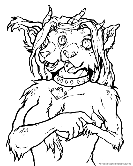 Vera Mutation Sketchbust by grungepuppy