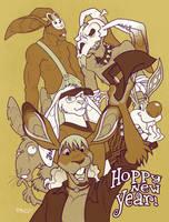 Hoppy New Year by grungepuppy