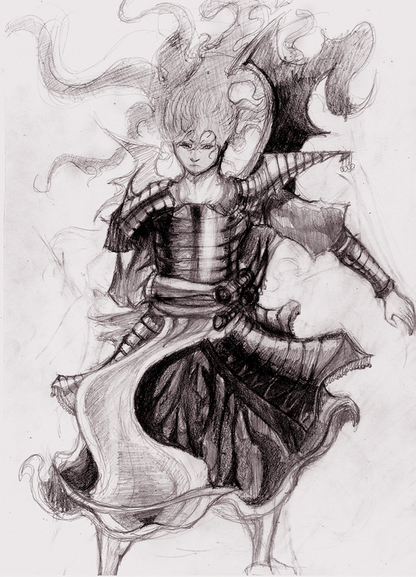 Samurai by Alantyn