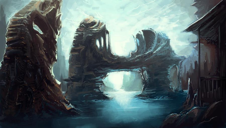 Forgotten sea by Alantyn