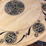 Celtic art Table by groomporter