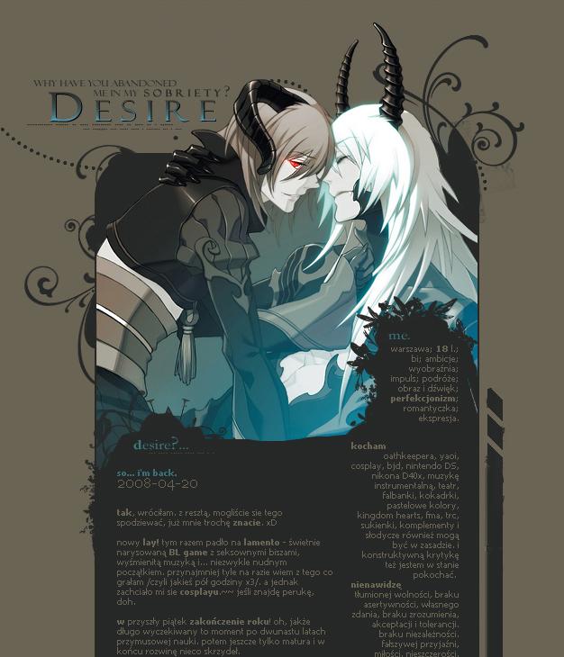 l. fantasy v.13 - D E S I R E by Kairisia