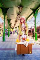 KOBATO: waiting for a train. by Kairisia