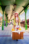 KOBATO: waiting for a train.